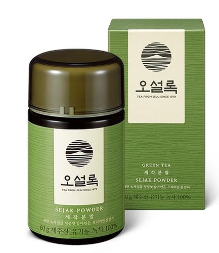 Osulloc Sejak Green Tee Powder (Matcha) from Jeju 60g