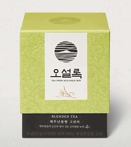 Jeju Orchid Green Tea / 제주 난향 그린티 1.5 g x 10 Bag